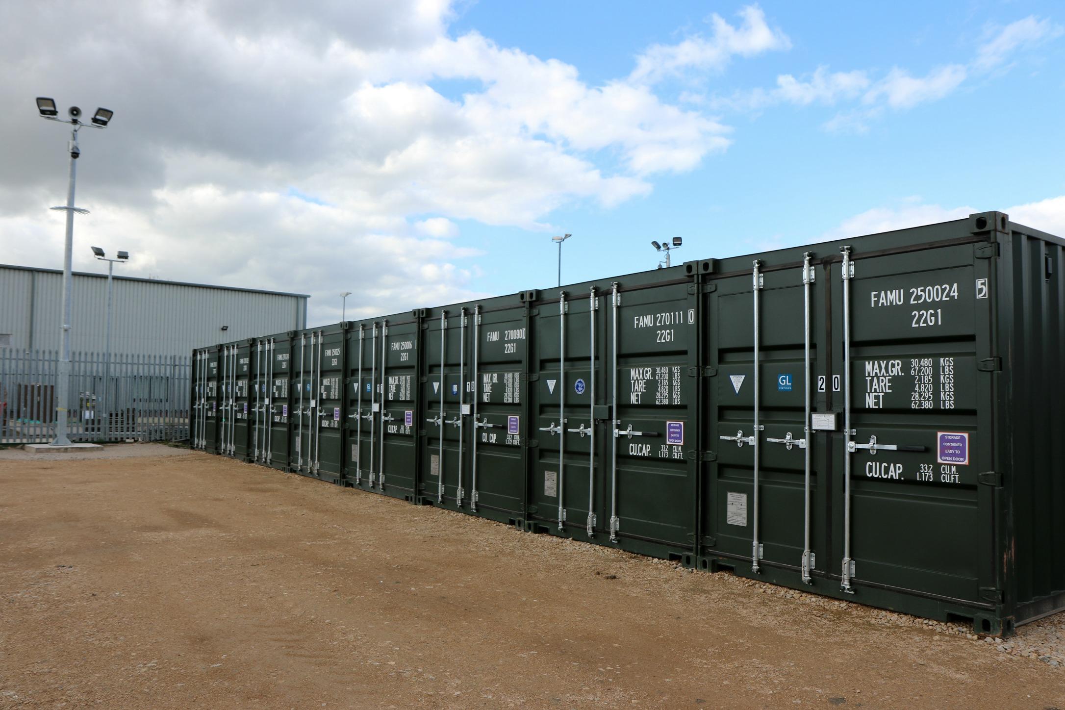 storage in swadlincote